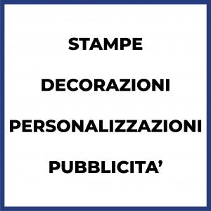 Personalizzazioni e Prodotti Pubblicitari